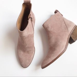Like new Sole Society River ankle booties